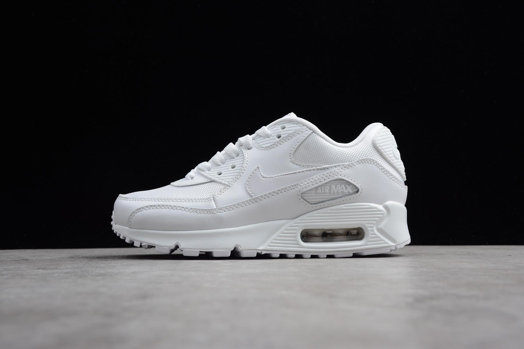 Nike Air Max 90 Essential Triple White 537384-111 – Men Air Shoes