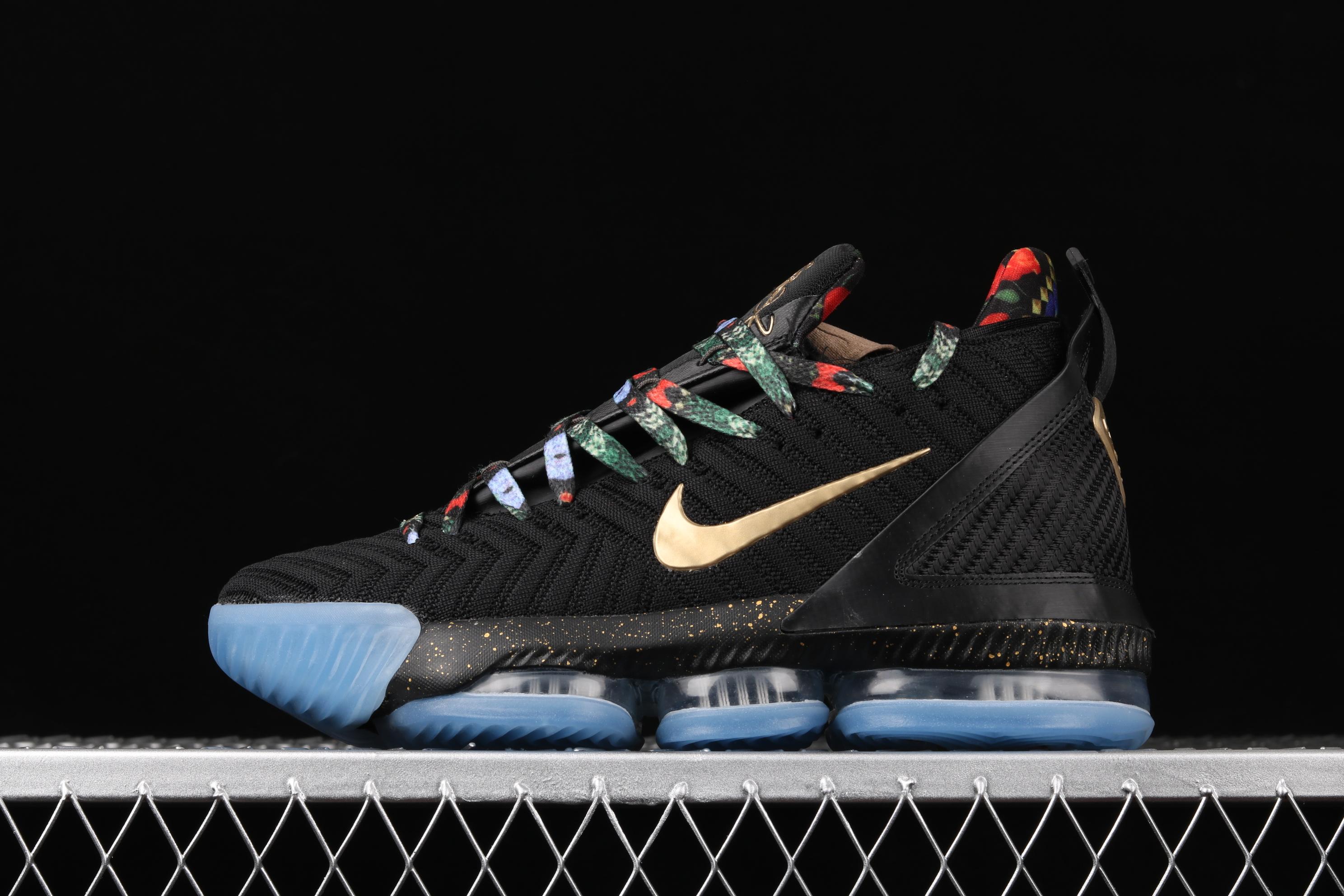Nike Lebron 16 EP LBJ Black Metallic