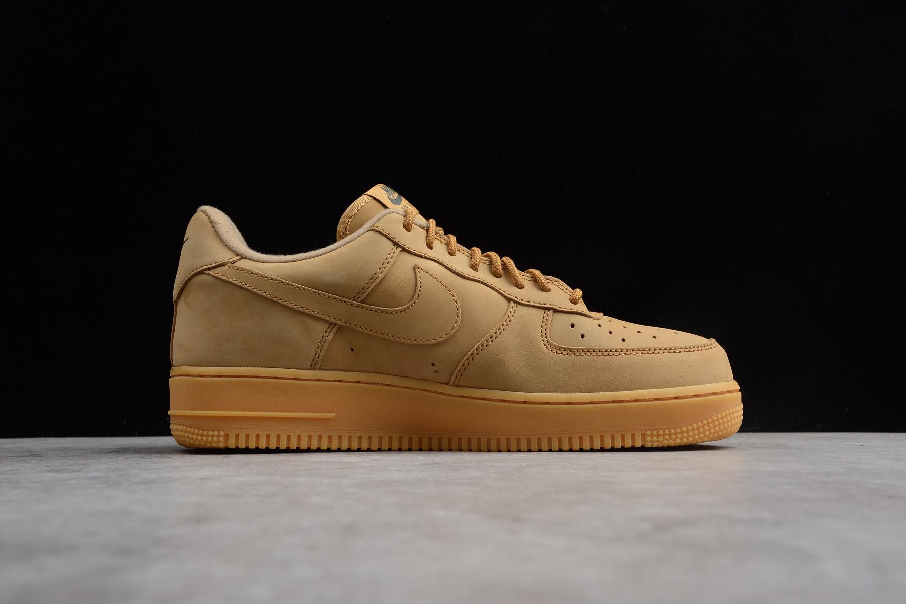 Nike Air Force 1 07 WB Flax Gum Light