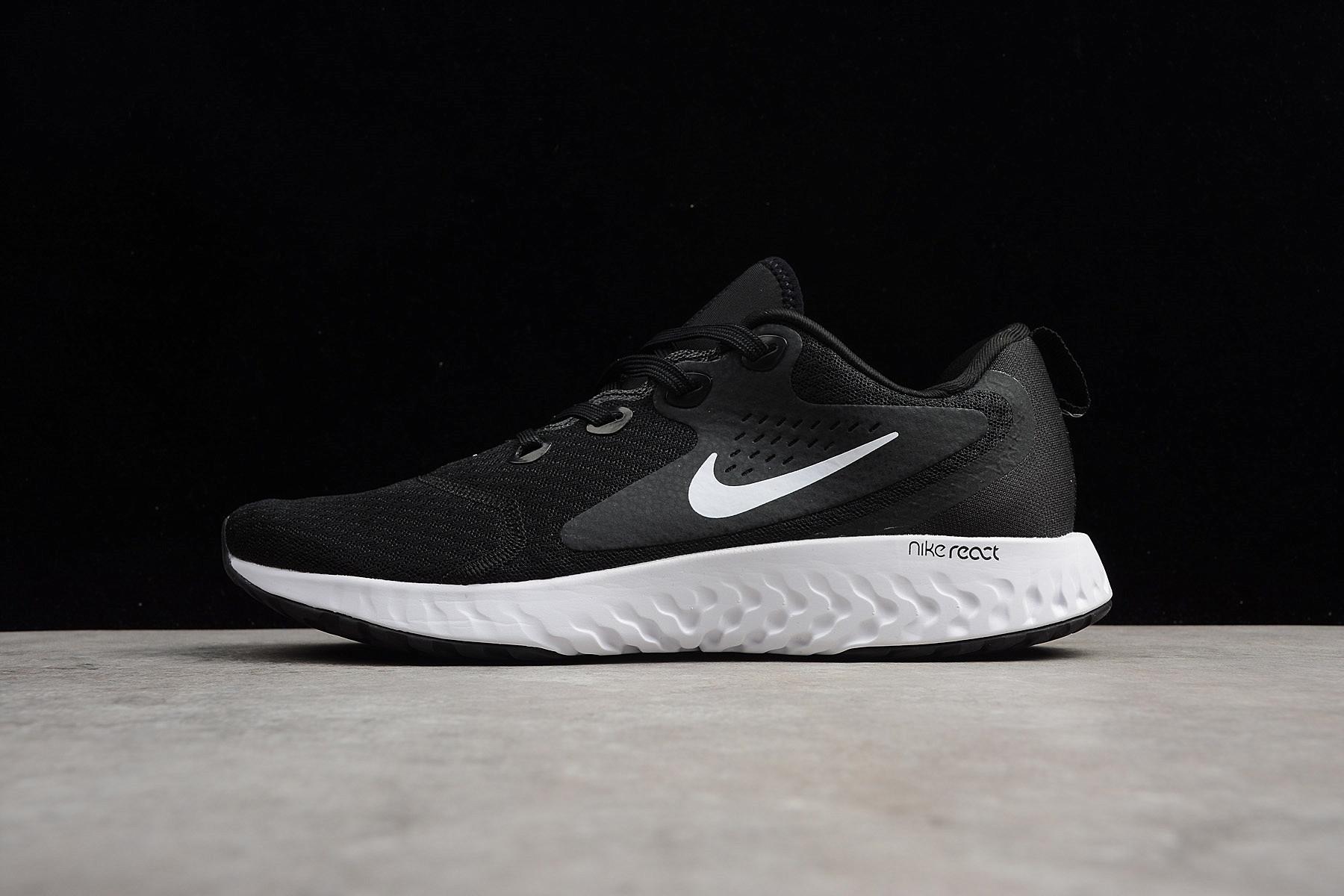Nike Epic React Flyknit Black White